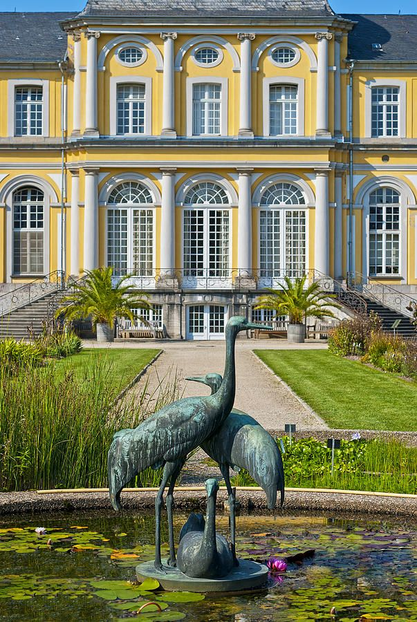 Castle Poppelsdorf, Bonn. Spent many a happy sunny afternoon lying in the gardens here...