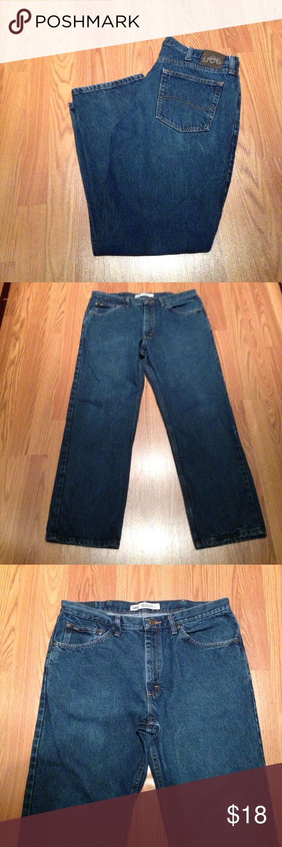 Men's Lee Jeans Men's 38 x30 Regular fit Lee jeans EUC Lee Jeans