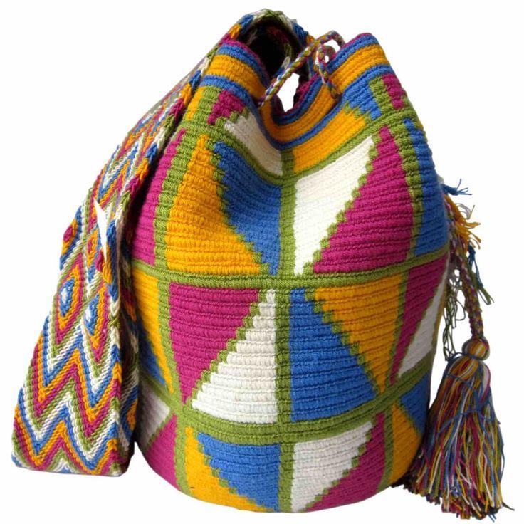 Mulata Mochila Wayuu Bag | Handmade and Fair Trade  Wayuu Mochila Bags – LOMBIA & CO. | www.LombiaAndCo.com