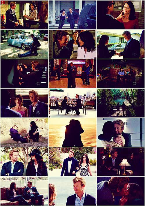The Mentalist J&L scenes. This is really good.