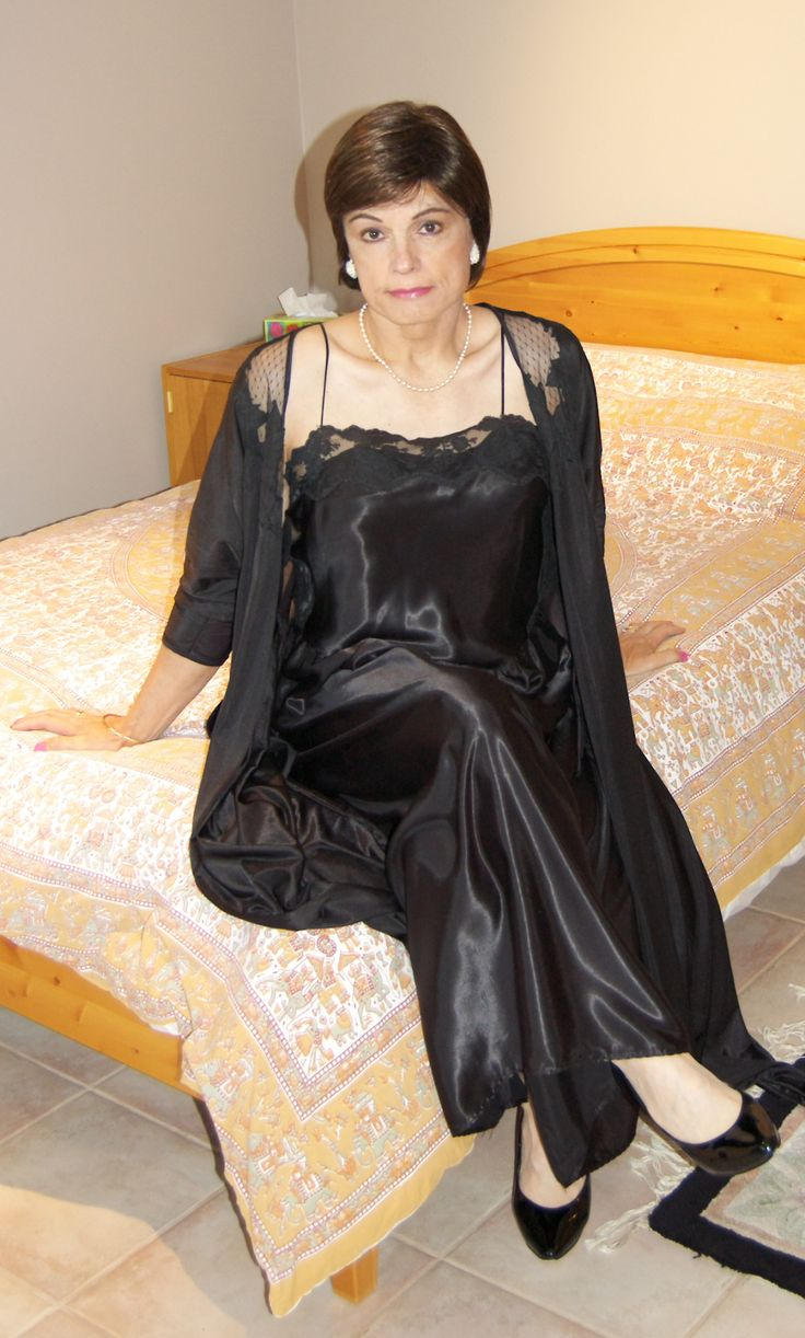 Long Black Blouse Dress