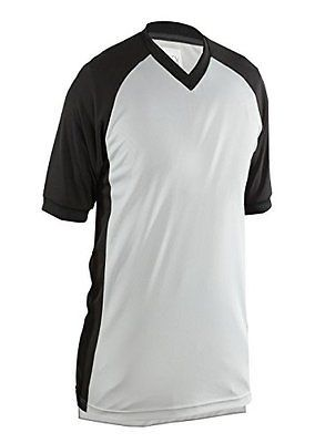 Women 158966: Adams Usa Smitty Performance Mesh Side Panel V-Neck Referee Shirt Gray, Large -> BUY IT NOW ONLY: $39.38 on eBay!