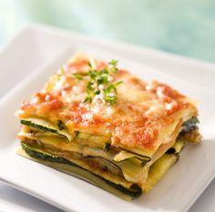 Recettes santé   Nutrisimple   Lasagne de courgettes