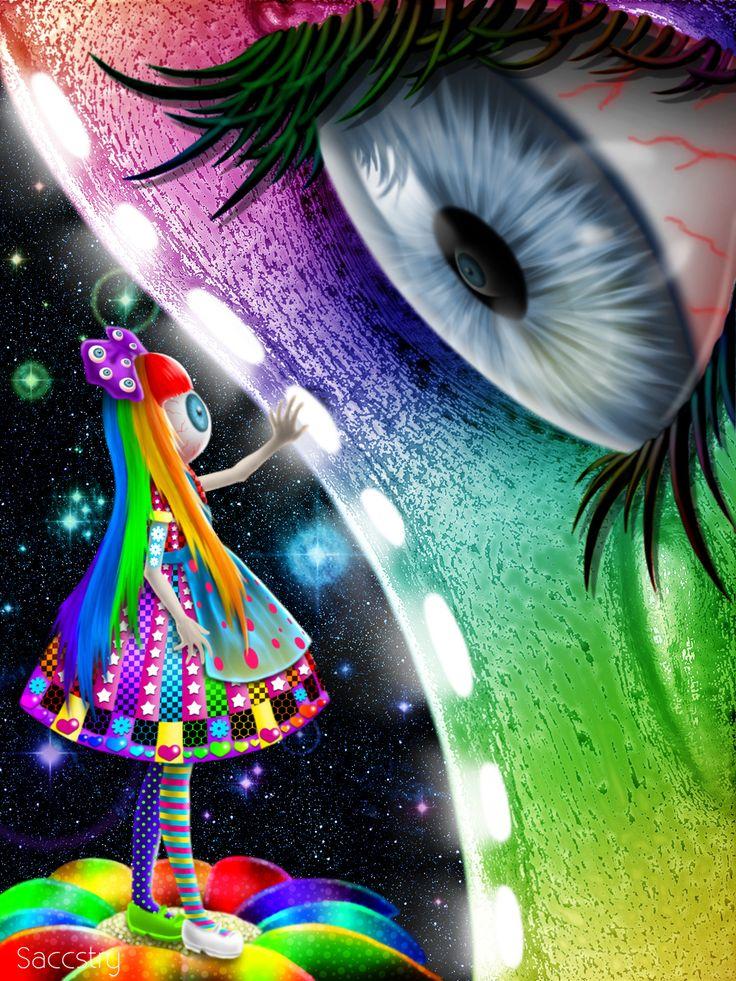 OLD art: eyeballs by SaccharineStrychnine.deviantart.com