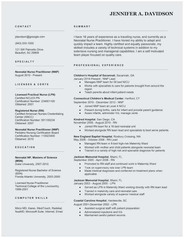 25 New Grad Rn Resume Template Cover Letter Templates Rn Resume Nursing Resume Rn Resume Template