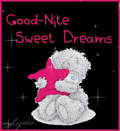good nite sweet dreams