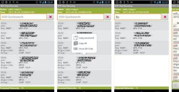 Cara mengetahui password wifi dengan WiFi Key Recovery