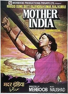 Poster of Mehboob Khan's Mother India (1957)
