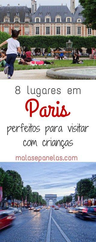 8 lugares em Paris perfeitos para visitar com crianças | Malas e Panelas