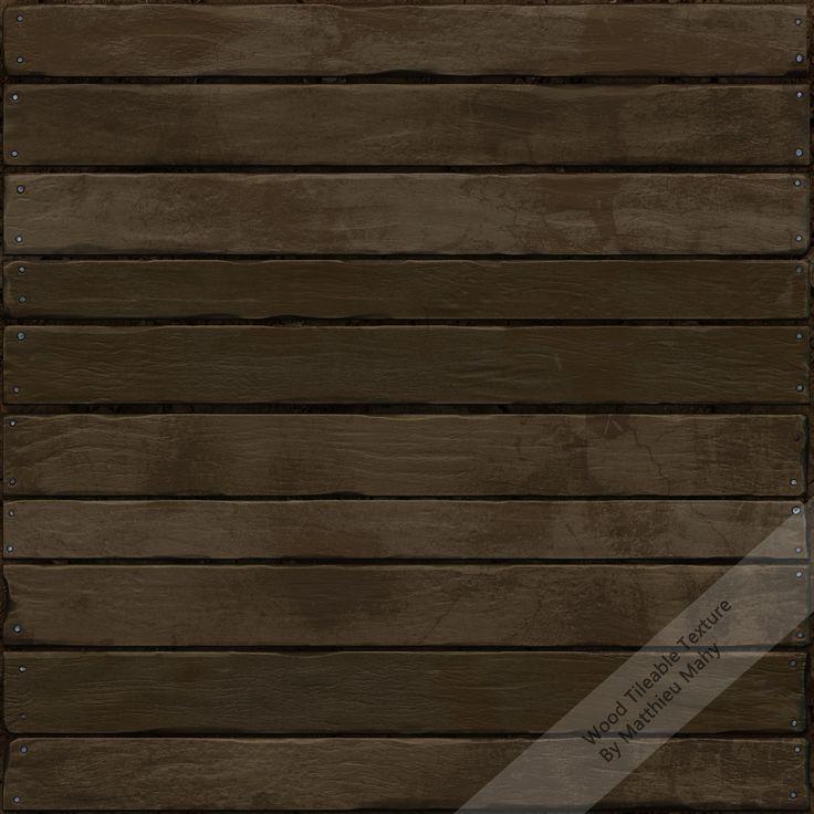 ArtStation - Wood Wall, Matthieu Mahy