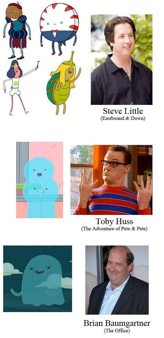 """25 Actors You Might Not Have Known Did Voices On """"Adventure Time"""" - BuzzFeed Mobile"""