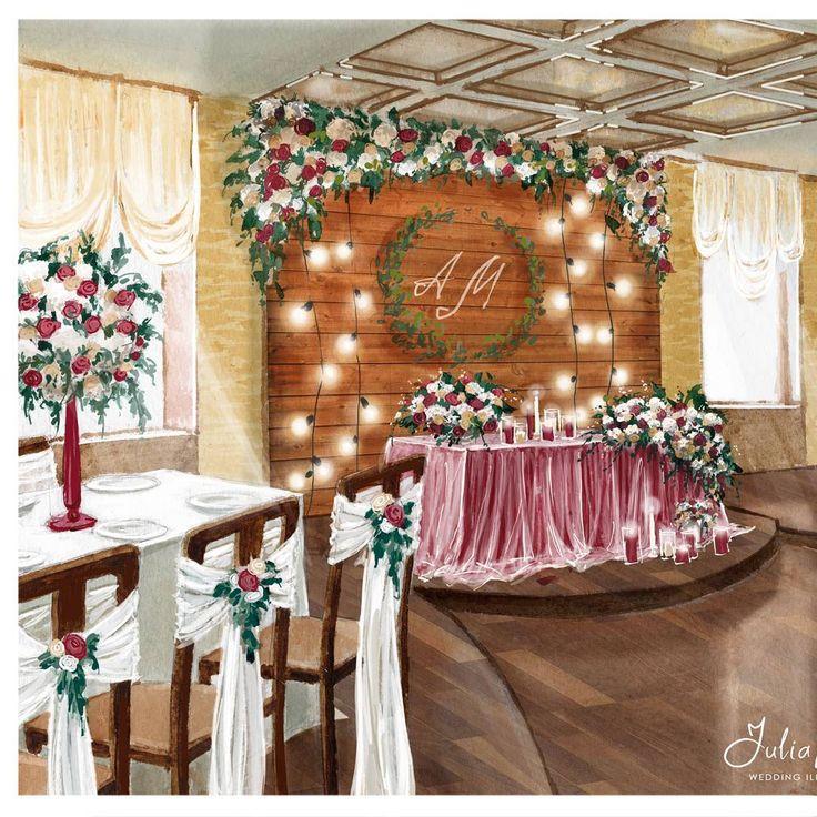 Эскиз для @dolche_vita_decor  Вот такой вопрос: стоит ли эскиз доводить до реалистичности или можно ограничиться схематическим расставление предметов в пространстве? Стоит ли вкладывать много усилий, когда возможно все понятно еще на уровне чертежа? Помогите здраво оценить старания  #illustrations #illustrator #weddingdecor #wedding #weddingillustration #weddinginspiration #cream #floristics #instadraw #artist #artwork #artblog #watercolor #drawing #оформлениесвадьбы #dailysketch #свадьба…