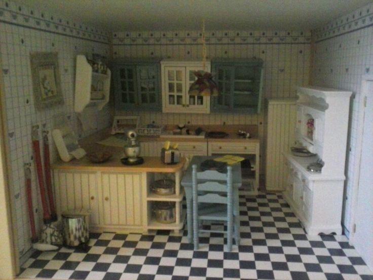 La cocina de mi casita de muñecas.