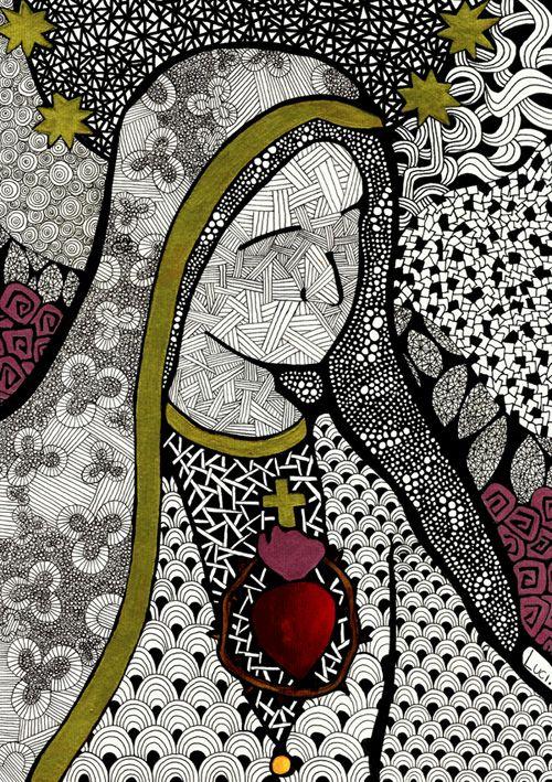 Maria - Luciana Pupo Art