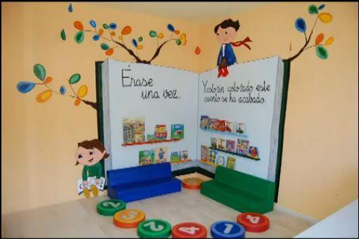 rincon de biblioteca en educacion infantil - Buscar con Google