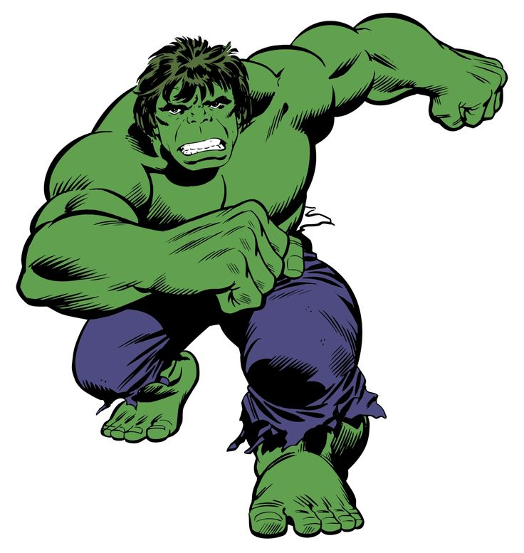 Classic Hulk   Marvel Classic Hulk Classic Giant Wall Stickers
