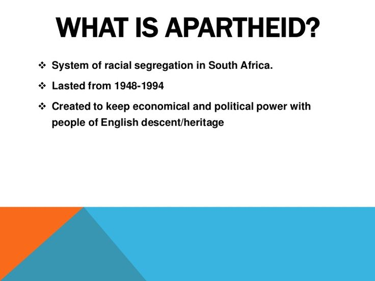 a history of the apartheid period in south africa Apartheid south africa segregation essays title: apartheid in south africa  in the post-world war ii period  history of apartheid and the.
