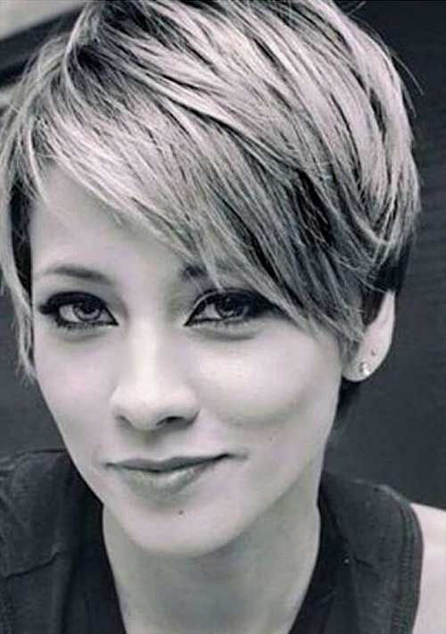 2016's most well known Pixie Cut with Bangs - Love this Hair                                                                                                                                                                                 More