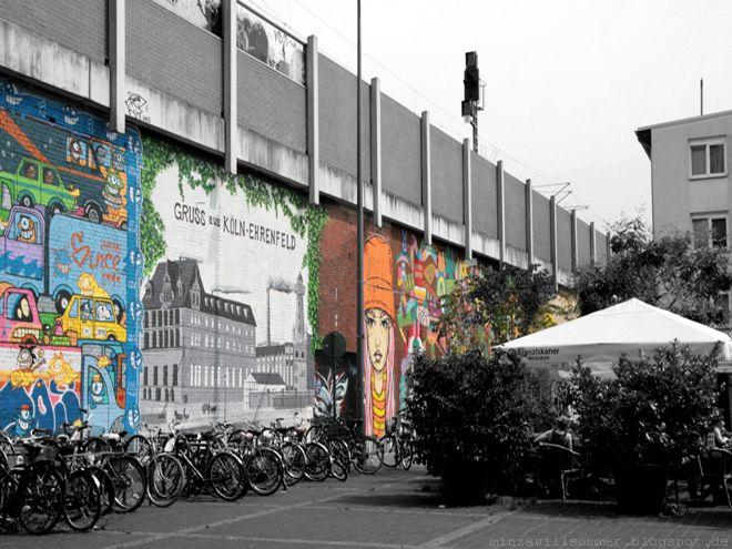 STREETART in Köln-Ehrenfeld I Heliosstraße, Gerhard-Wilczek-Platz, ... I *PEZ *El Bocho