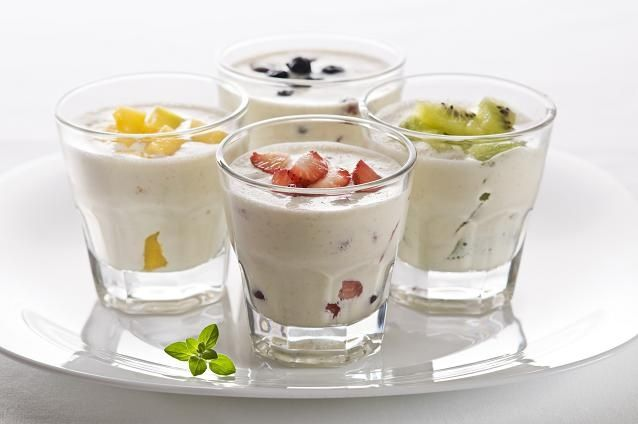 My favorite yoghurt recipe - makes you feel full, is healthy and low in calories.
