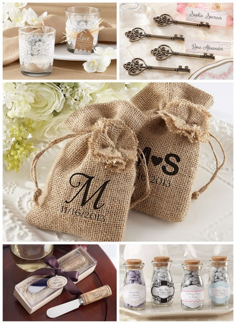 Vintage Theme Wedding Favor Ideas