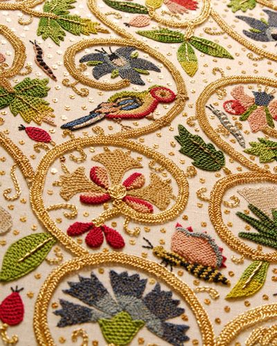 Primrose Design: an amazing embroidery project