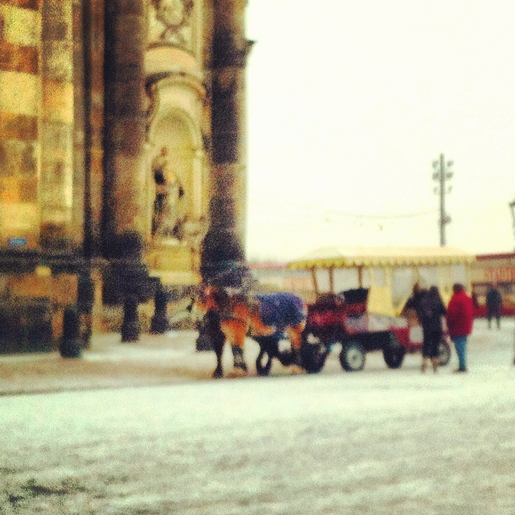 Joy of snow and history