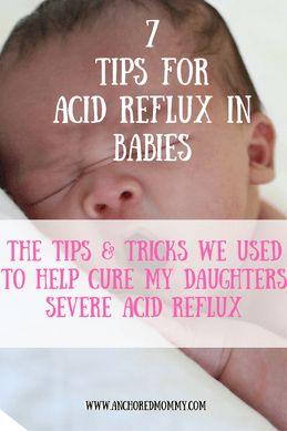 7 Tips & Tricks to Help Acid Reflux - Anchored Mommy