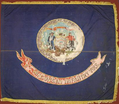 6TH WISCONSIN FLAG