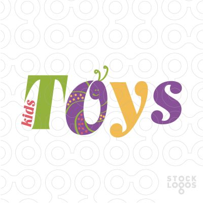 Exclusive Customizable Logo For Sale: Kids Toys Store | StockLogos.com