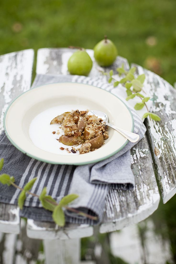 Päronpaj, receptet finns på martha.fi: http://martha.fi/sv/radgivning/recept/view-93381-4501