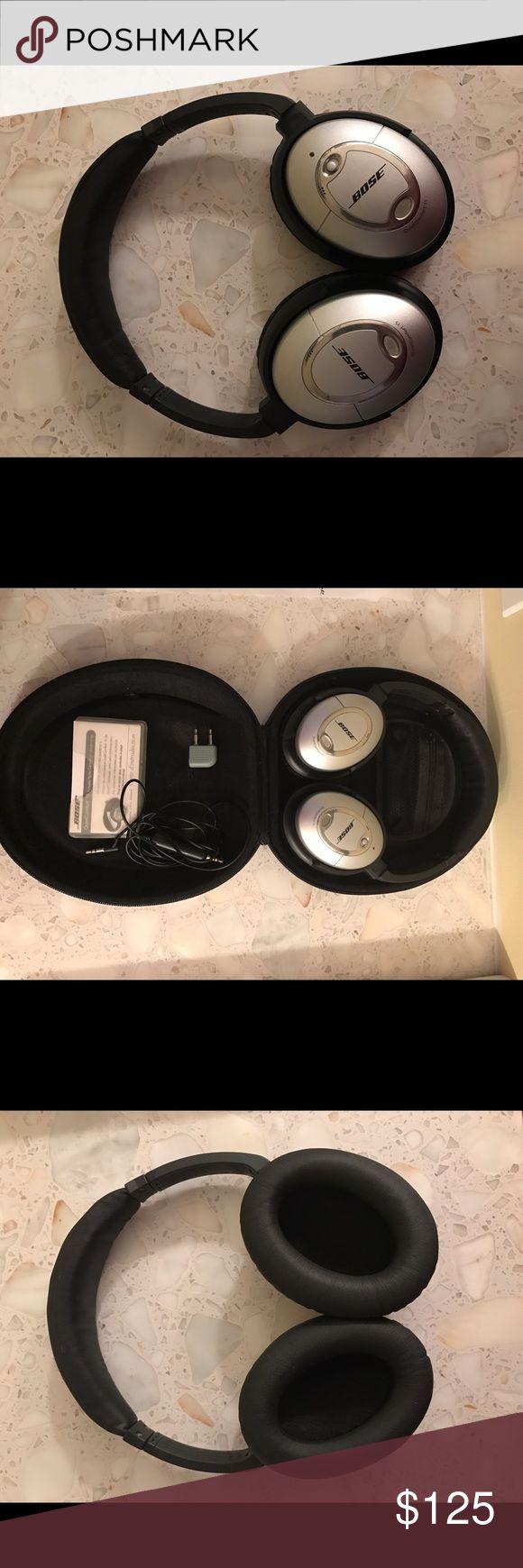 Bose QC15 Noise Cancelling Headphones Used Bose QC15 Noise Canceling Headphones. Only getting rid of to upgrade. Slight wear on headband. Bose Other