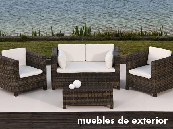 17 best images about muebles de exterior rattan on for Muebles exterior rattan