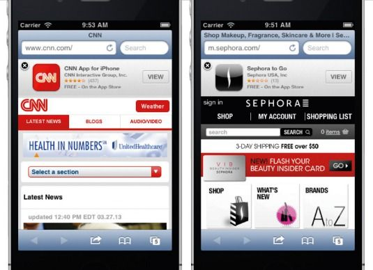 The top 10 mobile design mistakes – and how to avoid them