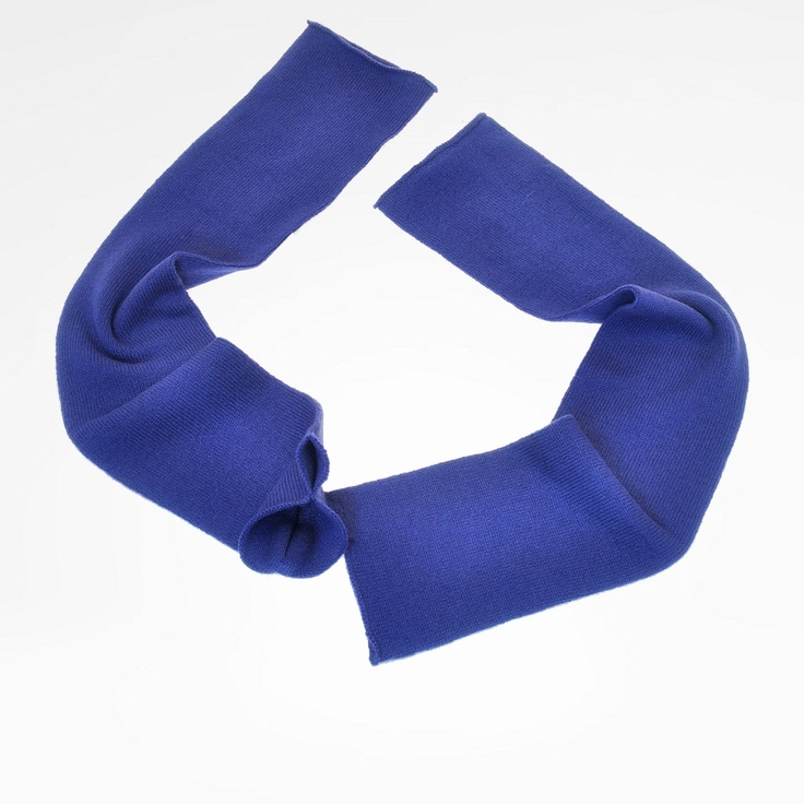 Plain color fingerless sleeves in pure cashmere