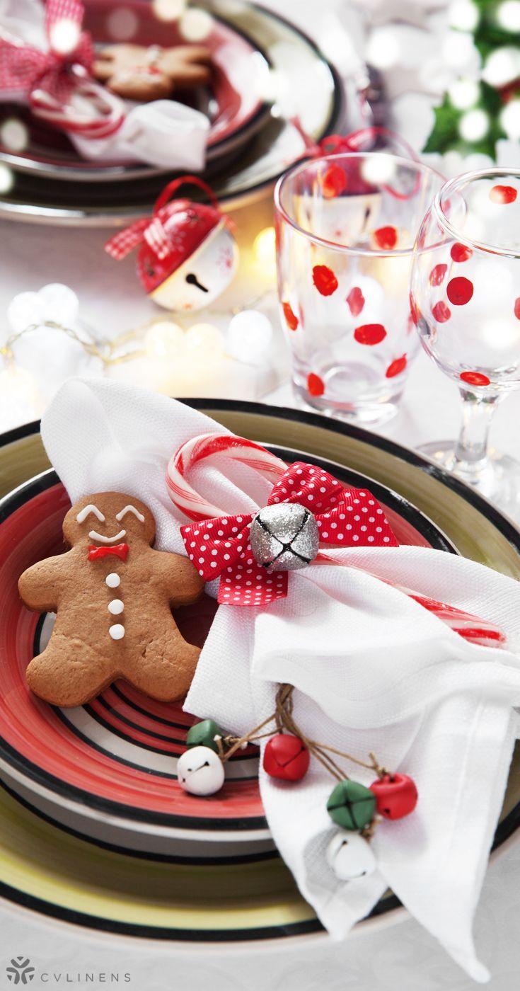 17 X17 Polyester Napkin White Diy Christmas Table Christmas Table Settings Wedding Table Linens