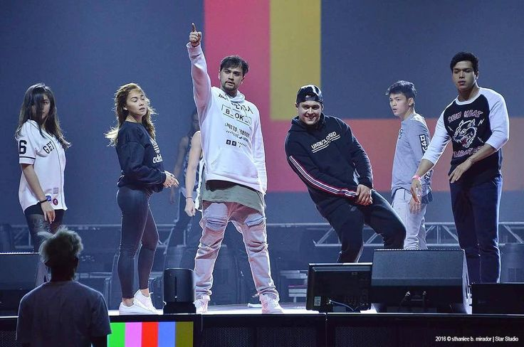 This is Janella Salvador, Maja Salvador, Billy Crawford, Enrique Gil, and Elmo Magalona practicing and rehearsing for their dance number during the rehearsals of ASAP Live in New York at the Barclays Center in New York City last September 3, 2016. #JanellaSalvador #MajaSalvador #IAmMajaSalvador #BillyCrawford #EnriqueGil #ElmoMagalona #ElNella #ASAPLiveinNewYork