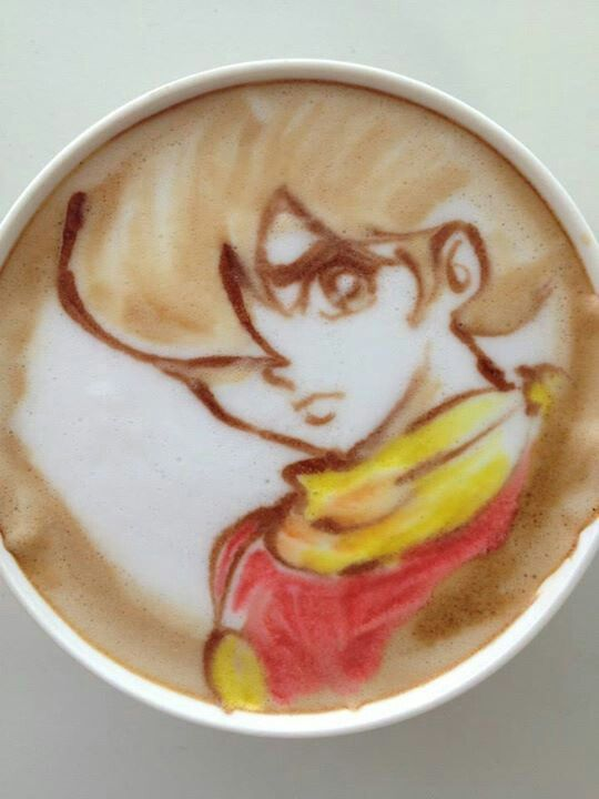 Anime LatteArt