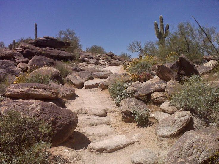 South Mountain Trail, Phoenix, AZ