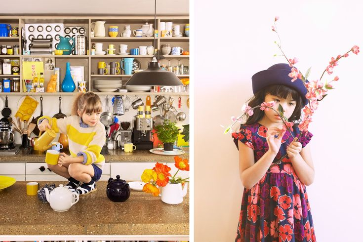 KIDS SUNDAY TELEGRAPH SPRING SUMMER 2012 SET STYLING PETRA STORRS