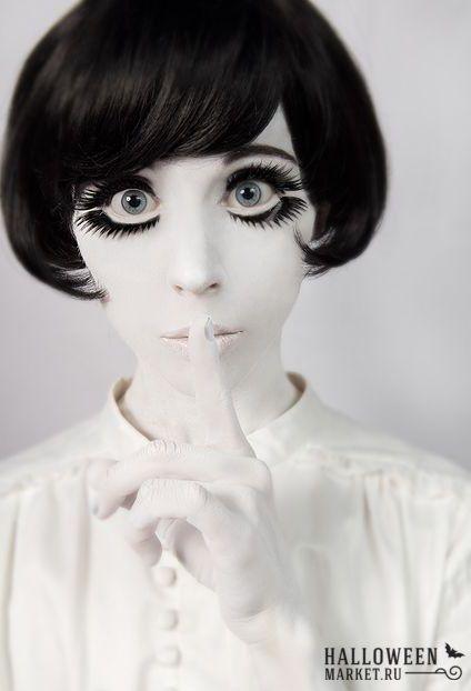 #doll #makeup #costume #halloweenmarket #halloween  #костюм #кукла #образ Образ и костюм куклы на хэллоуин (фото)
