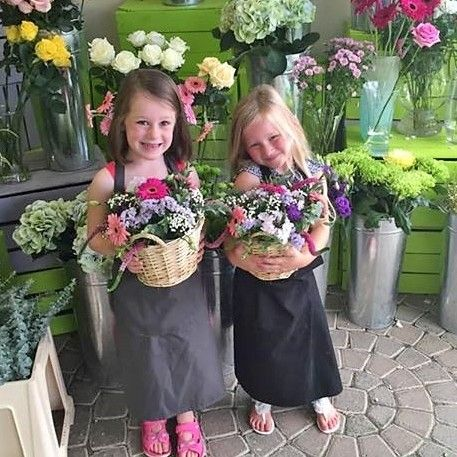 flower basket workshop