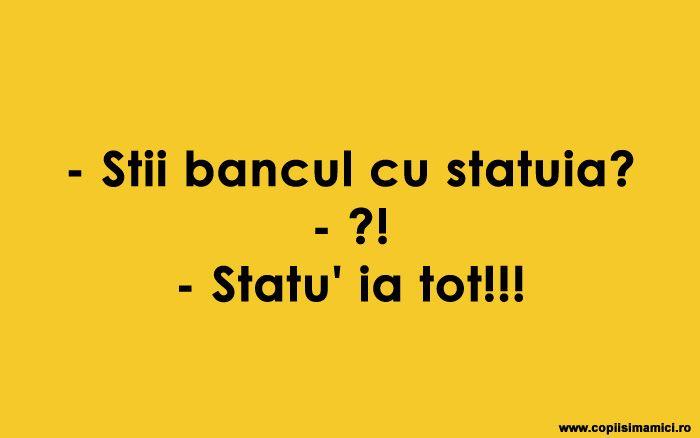 Stii Bancul Cu Statuia ? #banc #bancuri #bancuridecente #bancurihaioase #bancuritari #glume
