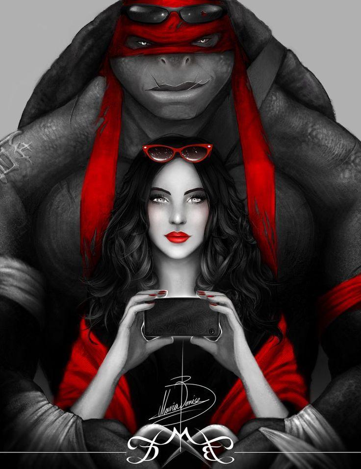 TMNT: Red by MariaDeniseBrebos