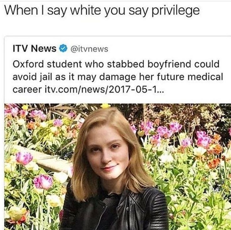 I'm as white as it gets but seriously if she was worried about it ruining her career then she shouldn't have committed a crime