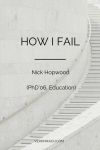 For this post of How I Fail I'm interviewing Nick Hopwood, an associate professor at the University of Technology Sydney. I came across his wall of rejection and after reading a interview with him about it just had to invite him for the...