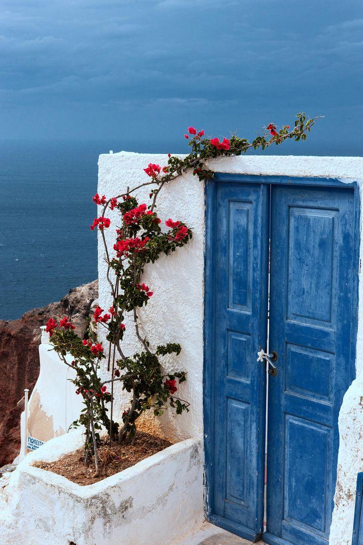 Red, White + Blue - Oia, Santorini