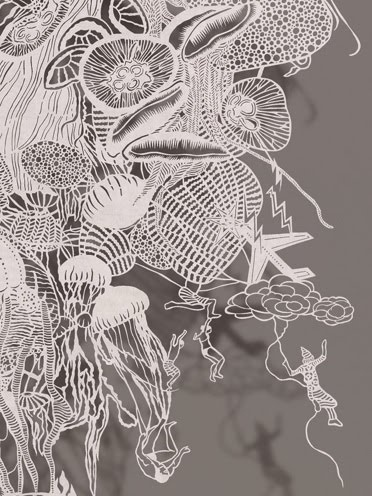 Cut Paper by Bovey Lee  Atomic Jellyfish