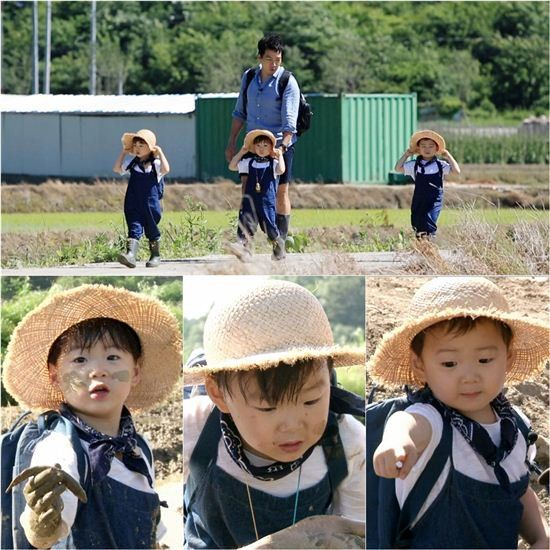 "Song Triplets Transform Into Toddler Farmers on ""Superman Returns"""