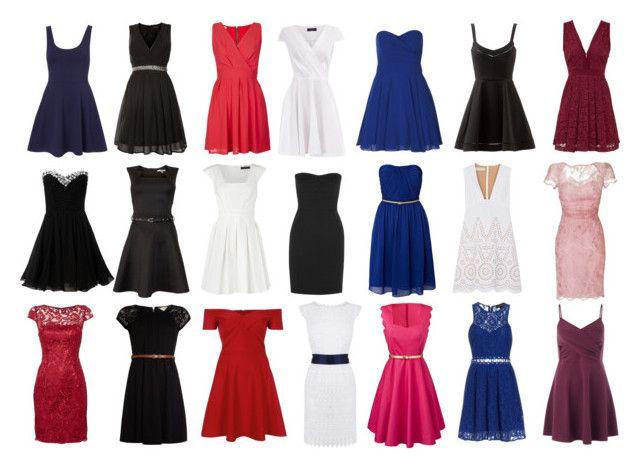 """Dress por Rectangle Body Shape"" by gabriela2105 on Polyvore featuring moda, WalG, Coast, Pussycat, DKNY, Lipsy, Untold, TFNC, Dorothy Perkins y Adrianna Papell"